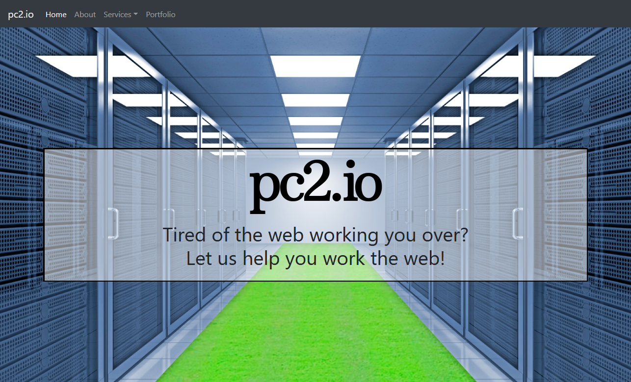 pc2.io home page
